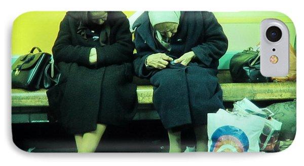 Ladys In Paris Metro IPhone Case by Daniel Gomez