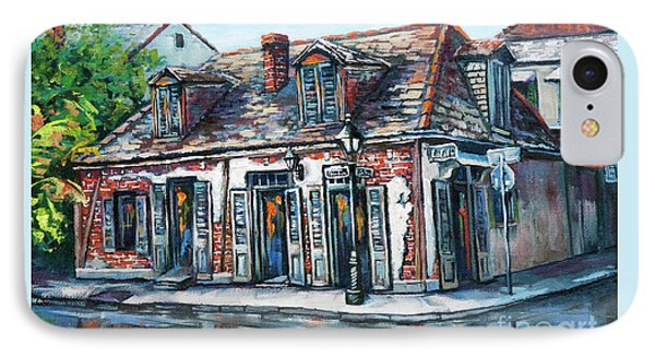 IPhone Case featuring the painting Lafitte's Blacksmith Shop by Dianne Parks