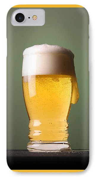 Lager Beer IPhone Case by Silvia Bruno