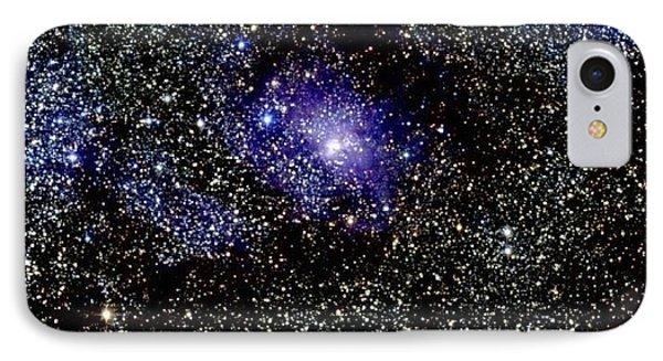 Lagoon Nebula IPhone Case by 2MASS project / NASA