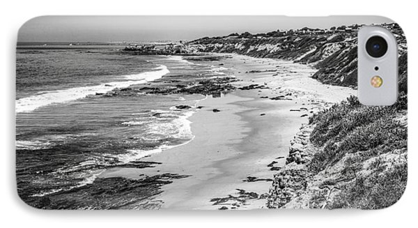 Laguna Beach Ca Black And White Photography IPhone Case