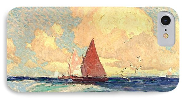 Yachting At Laguna Beach California 1921 IPhone Case