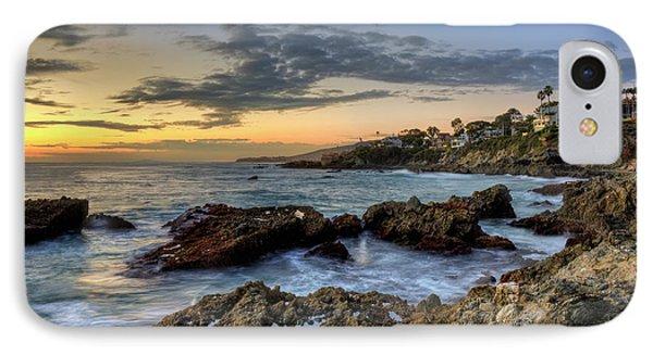 IPhone Case featuring the photograph Laguna Beach Coastline by Eddie Yerkish
