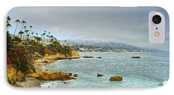 Laguna Beach Coastline IPhone Case