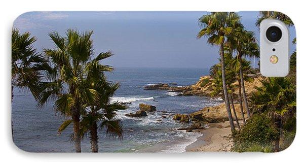 Laguna Beach Coastline IPhone Case by Lou Ford