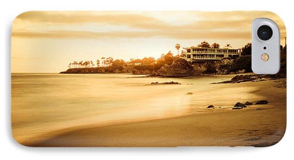 Laguna Beach Sunset At Shaw's Cove IPhone Case by Paul Velgos