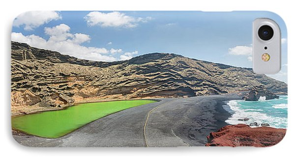 IPhone Case featuring the photograph Laguna Verde by Delphimages Photo Creations