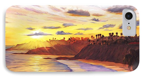 Laguna Village Sunset IPhone 7 Case
