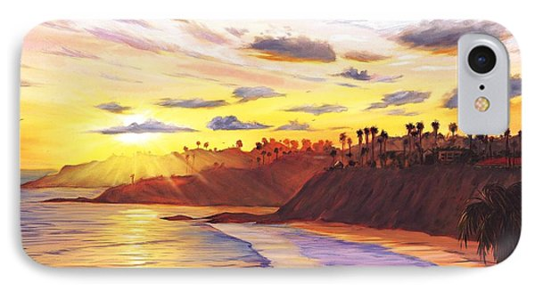 Laguna Village Sunset IPhone Case by Steve Simon