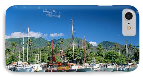 Lahaina Harbor - Maui Phone Case by William Waterfall - Printscapes