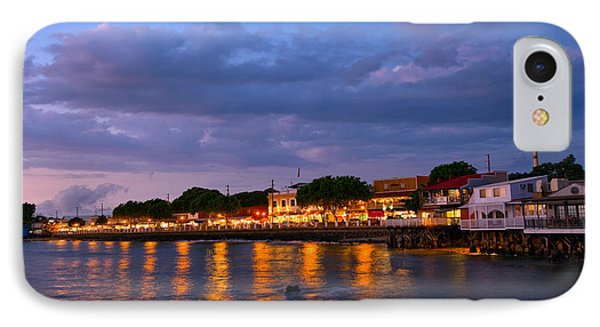 Lahaina Roadstead IPhone Case by James Roemmling