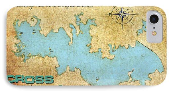IPhone Case featuring the digital art Laissez Les Bon Temps Roulet - Cross Lake, La by Greg Sharpe