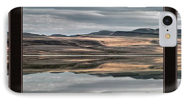 Lake Abert Triptych IPhone Case