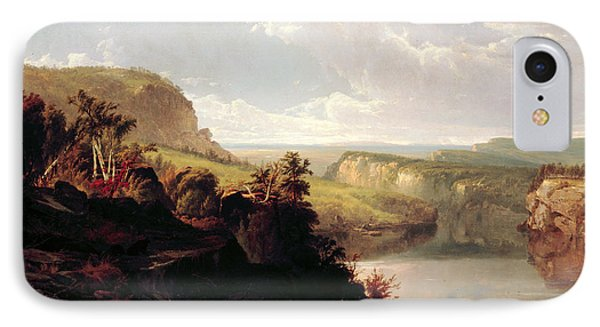 Lake Among The Hills  IPhone Case by William Hart