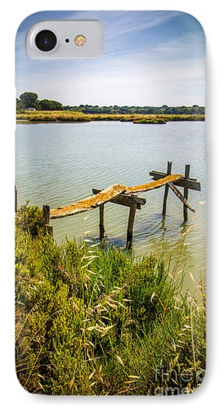 Lake And Pier IPhone Case