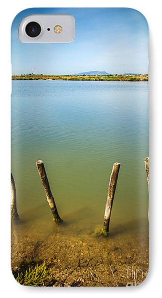 Lake And Poles IPhone Case