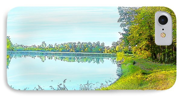 Lake And Woods IPhone Case by Craig Walters