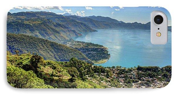 Lake Atitlan IPhone Case by John Loreaux