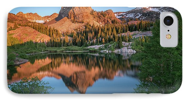 City Sunset iPhone 7 Case - Lake Blanche At Sunset by James Udall