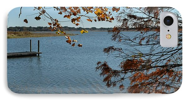 IPhone Case featuring the photograph Lake Bonny Autumn by Carol  Bradley