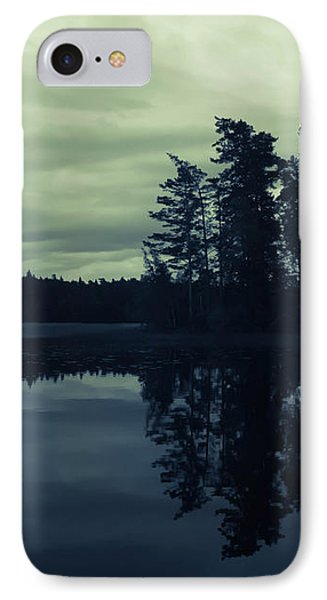 Lake By Night IPhone Case by Nicklas Gustafsson