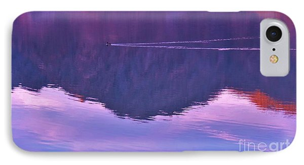 Lake Cahuilla Reflection IPhone Case
