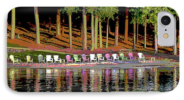 Lake Chairs IPhone Case