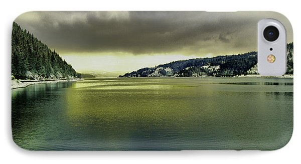 IPhone Case featuring the photograph Lake Coeur D' Alene by Jeff Swan