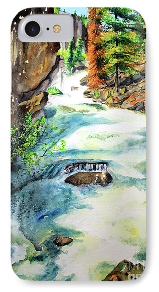 Lake Como Waterfall Phone Case by Tracy Rose Moyers