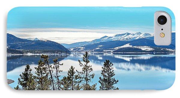 Lake Dillon Colorado IPhone Case by Stephen  Johnson