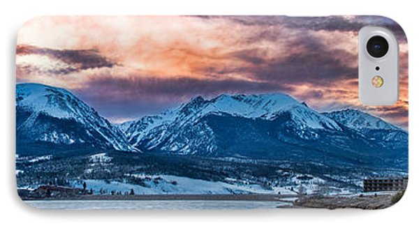 IPhone 7 Case featuring the photograph Lake Dillon by Sebastian Musial