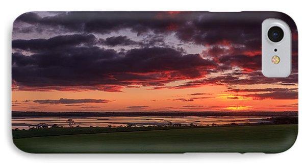 Lake Dumbleyung Sunset IPhone Case