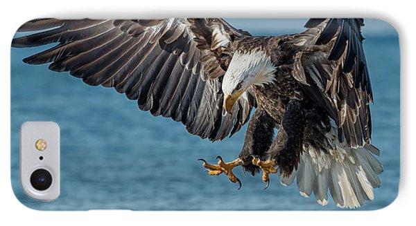 Lake Erie Eagle IPhone Case