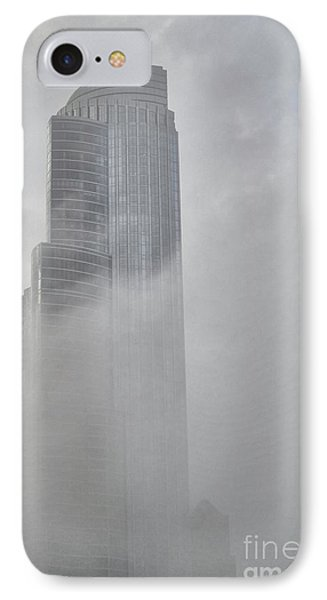 Lake Fog IPhone Case by David Bearden