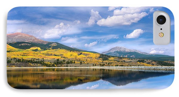 IPhone Case featuring the photograph Lake Forebay Reflections by Tim Reaves