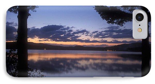 Lake Francis Twilight Phone Case by John Burk