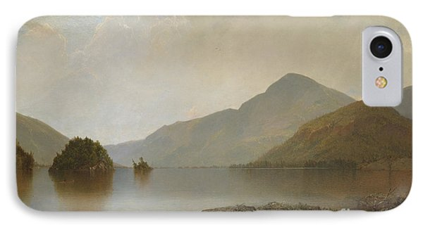 Lake George, 1869 IPhone Case by John Frederick Kensett