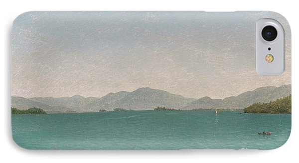 Lake George, Free Study, 1872 IPhone Case by John Frederick Kensett
