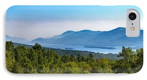 Lake George, Ny And The Adirondack Mountains IPhone Case by Brian Caldwell
