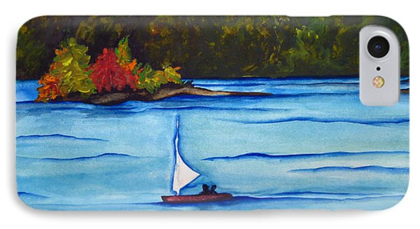 IPhone Case featuring the painting Lake Glenville  Sold by Lil Taylor