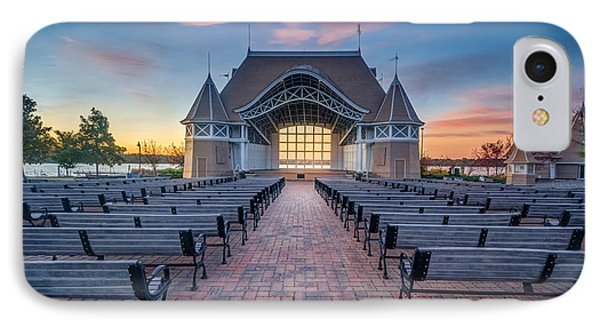 Lake Harriet Bandshell IPhone Case by RC Pics