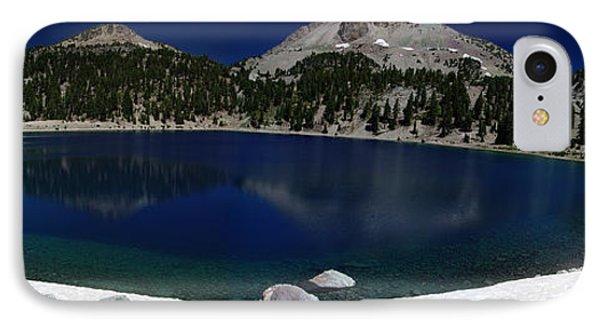 Lake Helen Lassen  Phone Case by Peter Piatt
