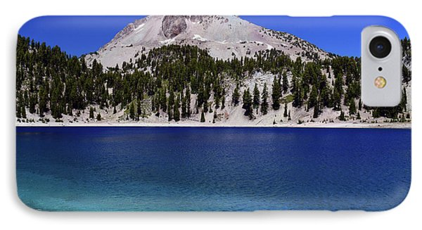 IPhone Case featuring the photograph Lake Helen Mount Lassen 2 by Frank Wilson