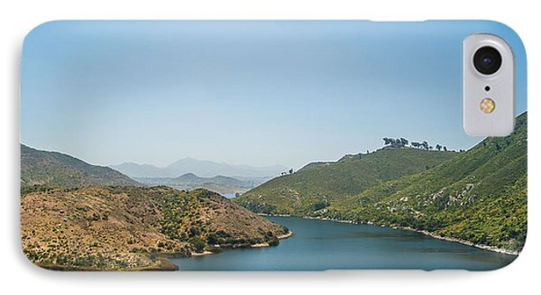 Lake Hodges IPhone Case by Alexander Kunz