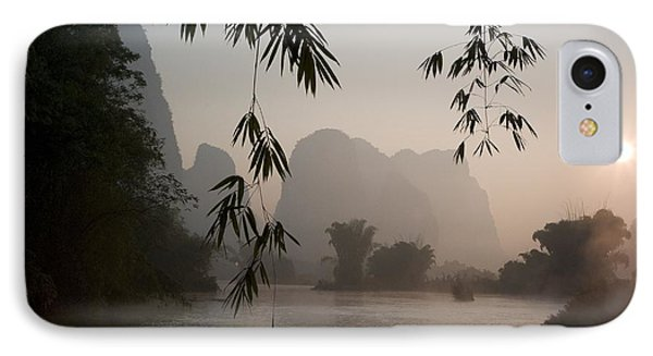 Lake In Mountain Area Phone Case by Keith Levit