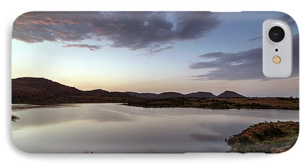 Lake In The Wichita Mountains  IPhone Case
