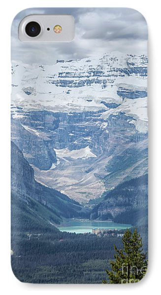 IPhone Case featuring the photograph Lake Louise, Banff National Park, Alberta, Canada, North America by Patricia Hofmeester