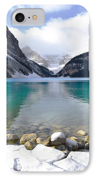 Lake Louise Beauty IPhone Case by Andrea Hazel Ihlefeld