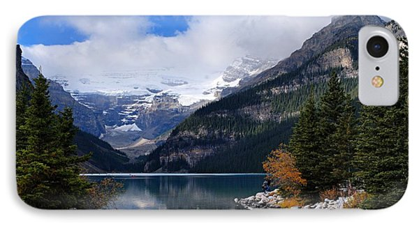 Lake Louise IPhone Case by Larry Ricker