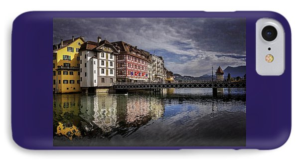 Lake Lucerne  IPhone Case by Carol Japp